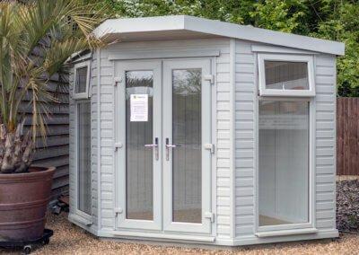 Deluxe Corner Summerhouse. From £4827