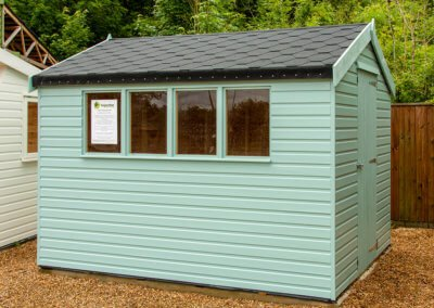 2.4x3.0m Deluxe Apex Shed
