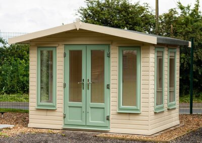 3.0x2.4m Deluxe Apex Summerhouse 1