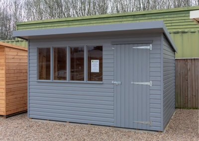 Deluxe Pent Shed 3.6 x 2.4m