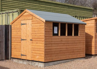 Heavy Duty Apex Shed 2.4 x 3.0m