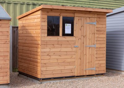Heavy Duty Pent Shed 2.4 x 1.8m